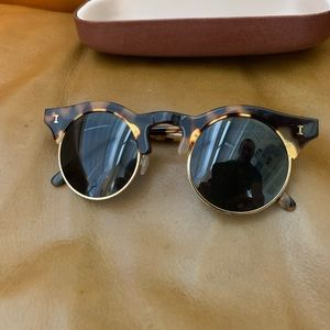 illesteva Light Tortoise Sun Glasses Original!